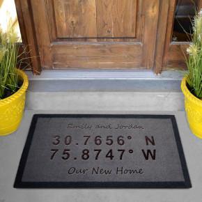 Home Co-ordinates Grey Doormat