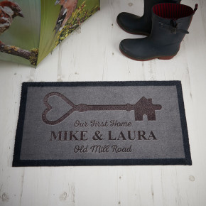Big Key First Home Doormat