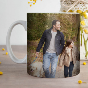 Panoramic Wrap Photo Mug
